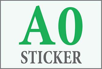 A0 Sticker Print
