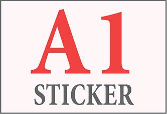 A1 Sticker Printing