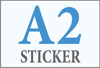 A2 Sticker Printing